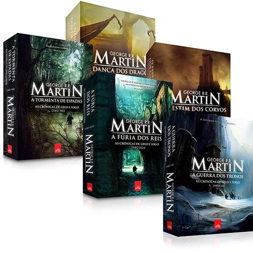 Coleção As Crônicas De Gelo E Fogo (5 Livros) #
