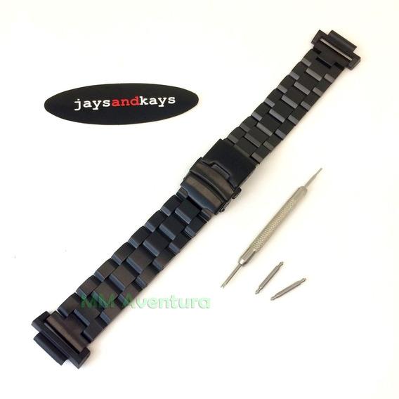 Pulseira Aço Inox Jaysandkays 20mm P/ Gshok 5600 6000 Ga800