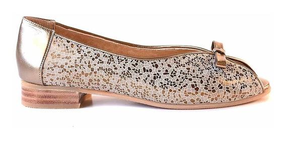 Chatita Zapato Mujer Vestir Cuero Briganti Mocasin Mccha2996