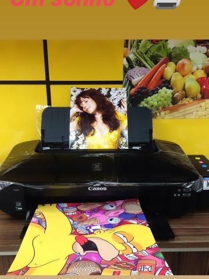 Impressora Canon Ix 6810 5 Cores Com Bulk E Tintas ¿¿