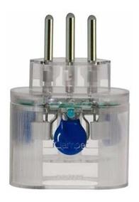 Clamper Pocket 3 Pinos - Protetor Dps Raios Surtos 2p+t 10a