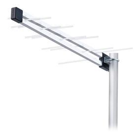 Antena Externa Coletiva Lu-8c Potente Para 3 Tvs Na Cidade