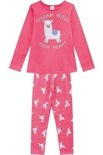 Pijama Meninas M/longa Kyly Outono-inverno Brilhante 207242
