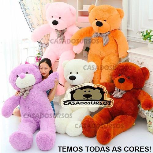 Presente Legal P/ Criança Amiga Namorado Urso Pelucia 1,20m