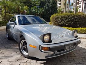 Porsche 944 84 Excepcional Toda Original N/ Mustang Camaro