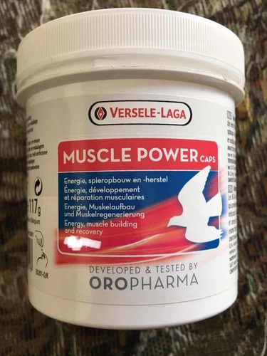 Muscle Power 15 Cápsulas Importado P/ Pássaros De Torneio   Mercado Livre