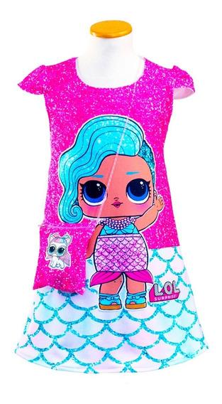 Vestido Lol Surprise. Splash Queen Con Carterita De Regalo