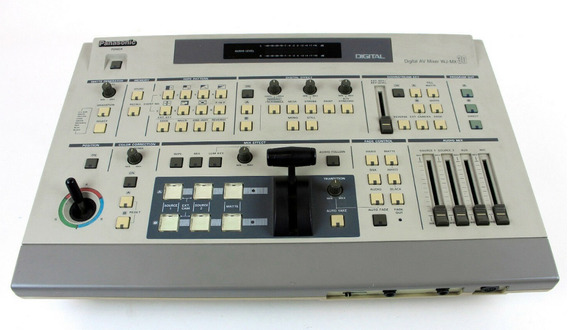 Wj-mx30 Digital Av Switcher-mixer Panasonic (impecável)