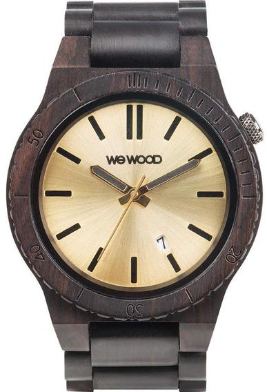 Relógio Wewood Arrow Black Gold + Sedex Grátis