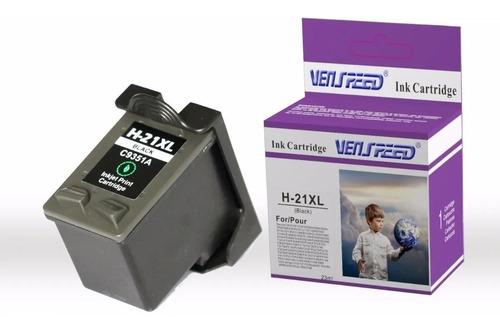 Cartucho Compatible Hp 21 Xl Negro  Venspeed