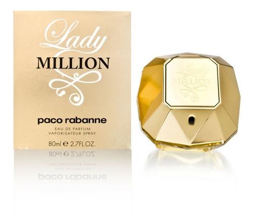 Perfume Locion Lady Millon Paco Rabban - L a $1625