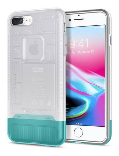 Capa De Celular Spigen Apple iPhone 7/8 Plus Classic C1 Snow
