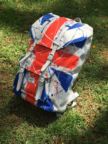 Mochila Herschel Little America, Uk Custom By Thiago Mordix