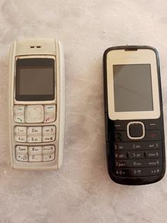 Celular Antigo Nokia 1600 E C2-00