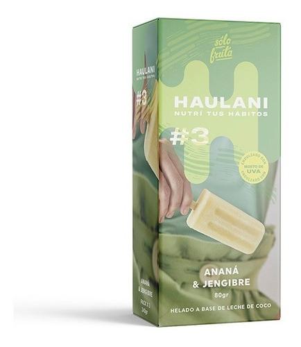 Paleta Haulani Ananá & Jengibre Pack X 3