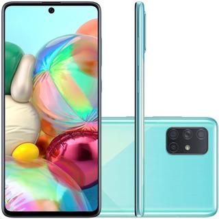 Celular Samsung Galaxy A71 Azul 6gb Ram 128gb Tela 6.7