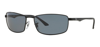 Lentes De Sol Ray-ban Active Rb3498 Polarized - Gris 61mm