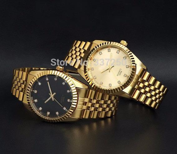 Relógio Masculino Chenxi Estilo Luxo Dourado Quartz Qualidad