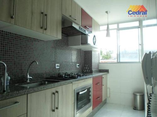 Apartamento Duplex Com 2 Dormitórios À Venda, 83 M² Por R$ 220.000,00 - Vila Caputera - Mogi Das Cruzes/sp - Ad0014