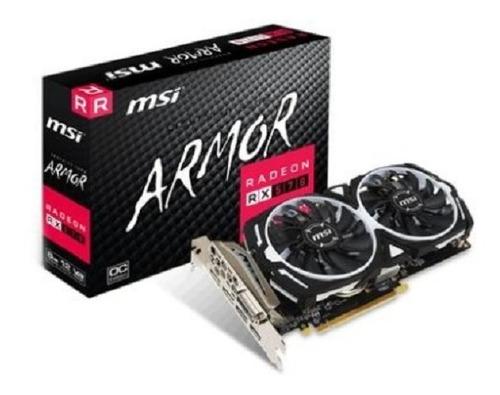 Imagem 1 de 1 de Placa De Vídeo Amd Radeon Rx 570 8gb