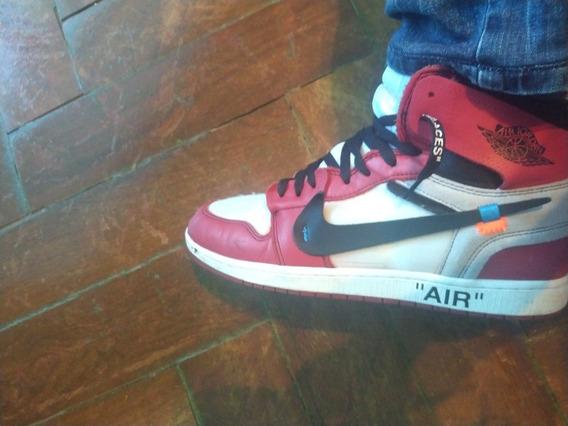 Air Jordan 1 Off White Chicago 7,5/10,usado