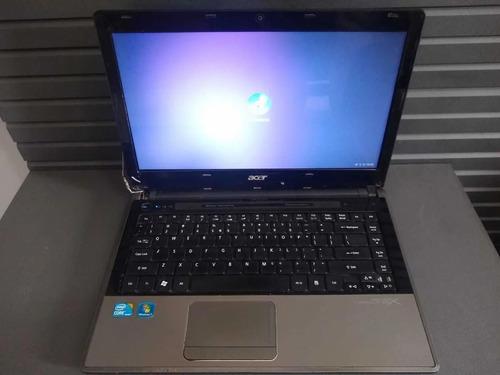 Notebook Acer 4820t   I3   4 Gb Ram - Peças