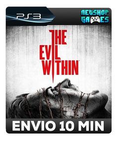 The Evil Within - Psn Ps3 - Promoção - Pronta Entrega