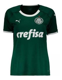 Camisa Feminina Palmeiras Verde Vermelha Branca Promoção