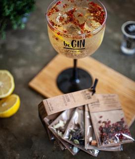1 Kit De Especiarias Para Gin Tônica + 1 Taça