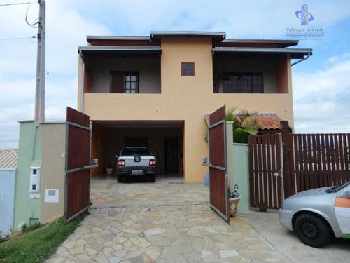 Casa Com 3 Dormitórios À Venda, 408 M² Por R$ 750.000,00 - Jardim Monte Verde - Valinhos/sp - Ca0689