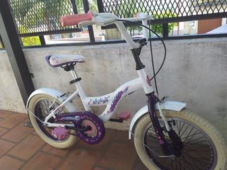 Bicicleta Raleigh De Aluminio Rodado 16 Lista Lil Honey