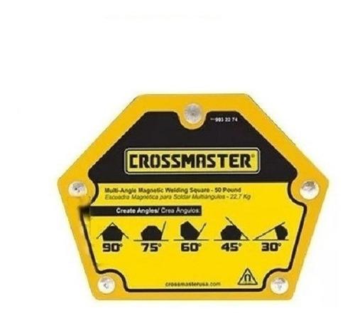 Escuadra Crossmaster Magnetica Multiangulo 11 Kg