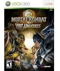 Jogo Luta Midia Fisica Mortal Kombat Vs Dc Universe Xbox 360