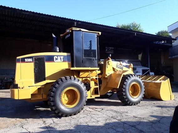 Pa Carregadeira Caterpillar 938g, Ano 2007