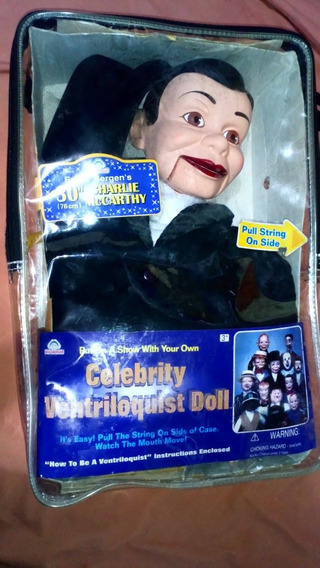 Celebrity Ventriloquist Doll Charilie Mc Carthy Toy Story 4