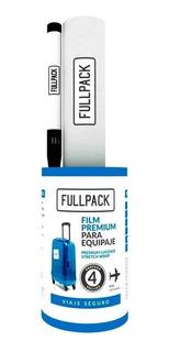 Film Protector Para Valijas + Fibra + Etiquetas Colores