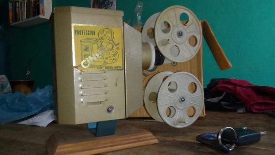 Proyector Cinerol Antiguo De Juguete Industria Argentina