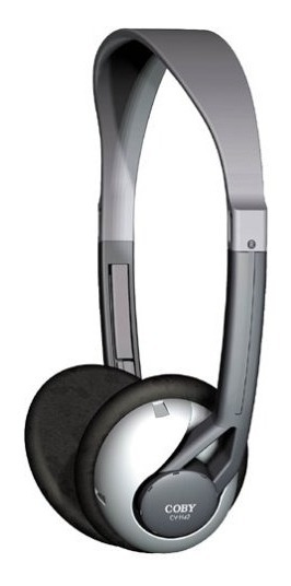 Fone De Ouvido Coby Deep Bass Stereo Headphones