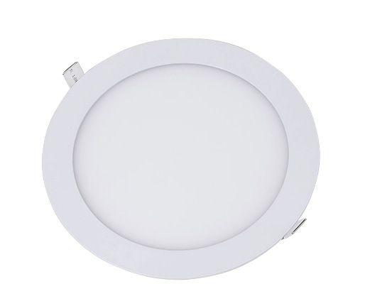 Luminária Plafon De Embutir Redondo 6w Led Branco 3000k