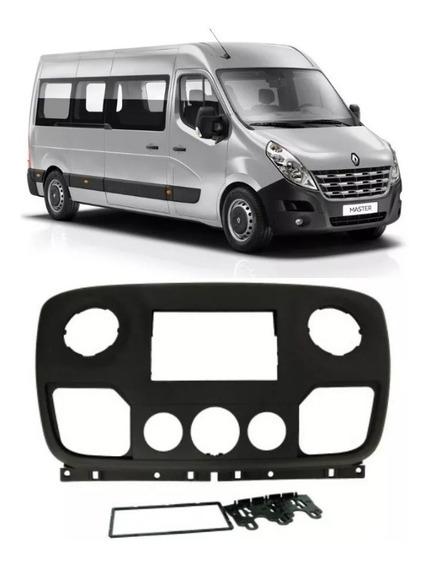 Moldura 2 Din Painel Dvd Central Mult Renault Master 2012 2013 2014 2015 2016 2017 2018 2019 Fiamon 4091 Japones Chines