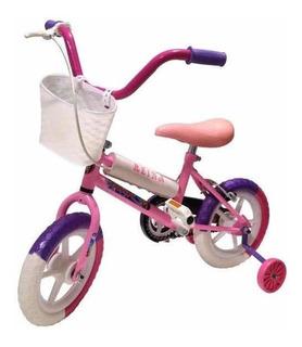 Bicicleta 12 Mujer Completa Full