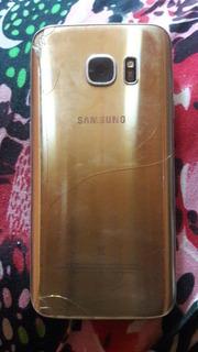 Célula Galaxy S7 32gb Trocado E Com O Viso Queimado