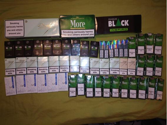 Lote De Marquillas De Cigarrillos Y Cartones Importados