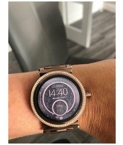 Relógio Smartwatch Michael Kors Access Sofie Mkt5030 Bronze