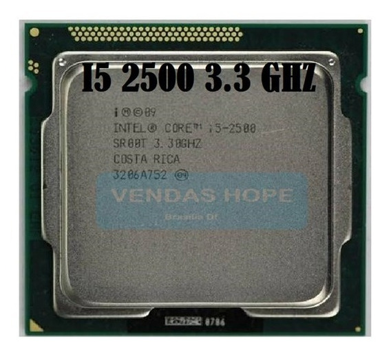 I5 2500 3.30ghz Lga1155 + Pasta (3 Meses Garantia)