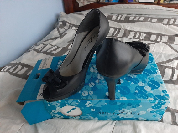 Zapato Taco Lady Stork Talle 39