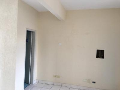Sala Em Centro, Santos/sp De 55m² Para Locação R$ 1.100,00/mes - Sa221078