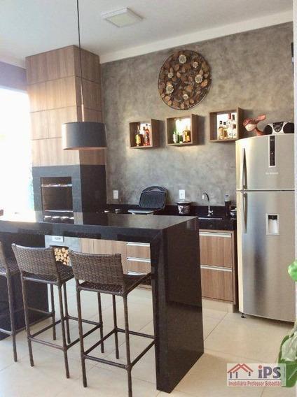 Casa Com 3 Dormitórios À Venda, 170 M² Por R$ 860.000 - Parque Brasil 500 - Paulínia/sp - Ca1382