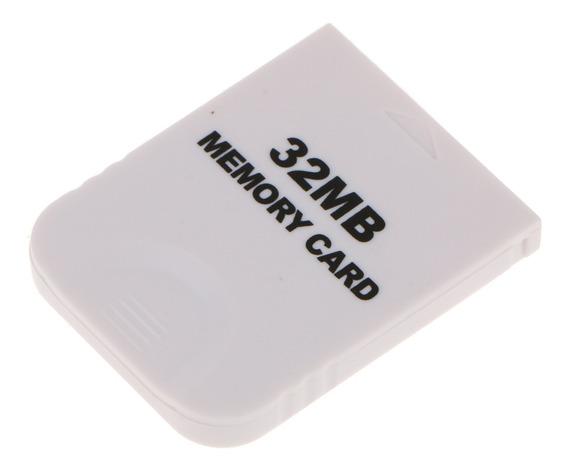 Cartão De Memória Prático St Para Nintendo Wii Gamecube Gc N