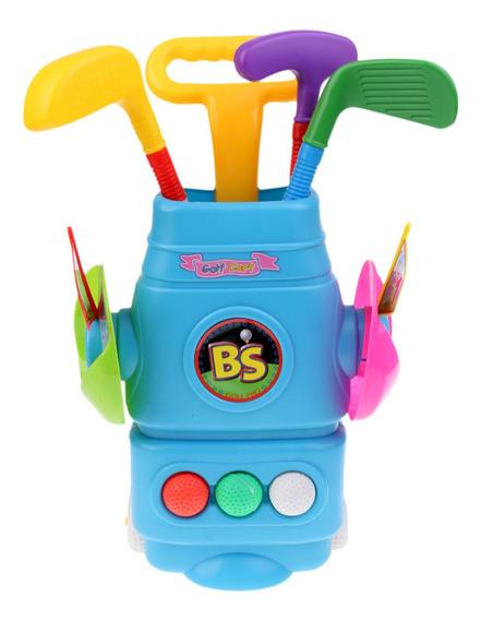 Juego De Golf Juguetes De Plástico Para Niños De Lujo Con